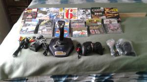 Joysticks & PC  Software Game Bundle