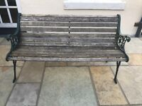 Traditional Cast Iron Garden Bench