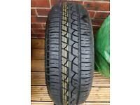Dunlop 195 60 15 tyre NEW. on 4 stud rim