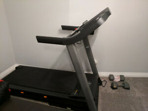 Prime condition NordicTrack treadmill with extended 4yr warranty