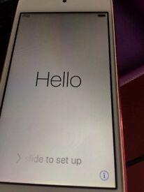 iPod 6 th generation pink 16 gb