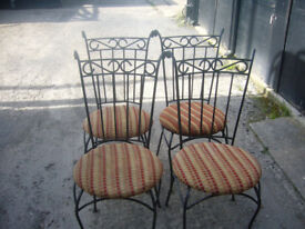 This is for a set of 4 Dinning / Conservatory chairs