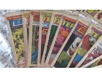 COLLECTION OF VINTAGE MARVEL TEAM UP COMICS 1980-1981