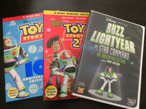 Toy Story DVD's