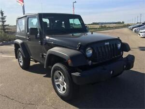 2017 JEEP WRANGLER LIMITED MANUAL WITH SOFT TOP !!