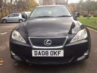 Stunning 2008 Lexus IS 220D Turbo Diesel Full Service History 12 stamps Fully loaded Drives perfect