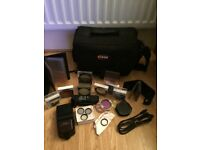 Canon 450d Camera and accessories