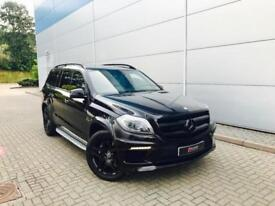 2014 64 reg Mercedes-Benz GL63 AMG 5.5 V8 + BLACK + HUGE SPEC + 7 SEATS