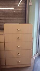 5 chest drawers and 4 chest drawers