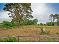 Half Acre Building Plot (.22 Hectares)