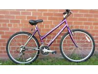 City Style Bike with Road Forks in Excellent Condition