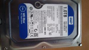 "WD 1.0TB Sata Hard Drive 3.5"""