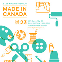 Etsy Made in Canada Halton Region