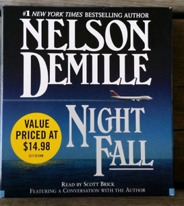 Audio Book cds Night Fall Nelson Denise - used once