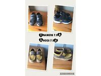Clarks shoes/trainers