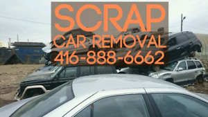 SCRAP CAR REMOVAL - GET TOP DOLLAR FOR OLD UNWANTED JUNK CARS