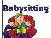 Reliable Babysitter & childminder