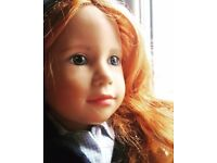 An artist doll by Gabrielle brill for sigikid