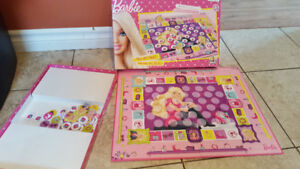 Barbie board game- Roll and shop Memory game