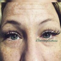 $50 July Special Mink fullset eyelash extensions