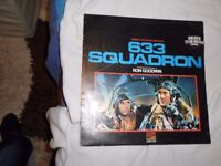 633 squadron movie sound track vinyl LP