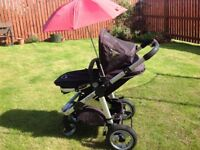 iCandy Apple Pram and Pushchair (Stroller and Carry Cot)