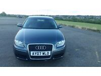 2007 AUDI A3 1.9 TDI-FULL SERVICE, 1 YEAR MOT, CLEAR HPI, GREAT CONDITION!
