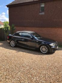 BMW 1 SERIES MSPORT CONVERTIBLE BLACK LEATHERS FULL SERVICE HISTORY HIGH SPEC