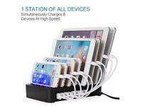 NEW Nexgadget USB Charging Station 8 Port FAST CHARGE DOCK
