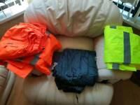 Heavy duty waterproof work trousers