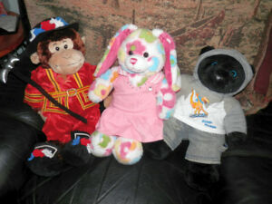 3 Build-A-Bears and new Kids Concoctions