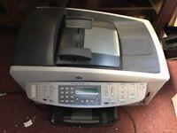 HP 7210 office jet printer/ scanner copier with cartridges