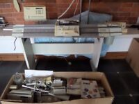 PASSAP E6000 KNITTING MACHINE WITH MOTOR AND EXTRA MACHINE FOR SPARES