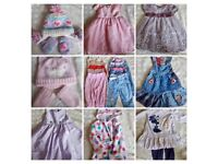35 items 6-9 months girls clothes