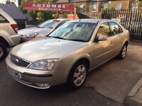 Ford Mondeo 2.0 Ghia 5dr 6 MONTH FREE WARRANTY