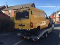 FORD TRANSIT VAN 2.5 DIESEL 1998 BREAKING FOR SPARES AND REPAIRS
