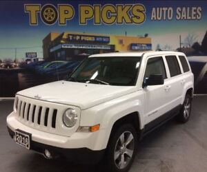 2016 Jeep Patriot HIGH ALTITUDE, LEATHER, SUNROOF, 4X4!