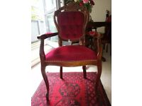 Lovely antique dining room armchair. excellent condition.
