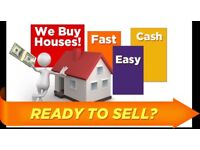 We Buy Property for Cash!!