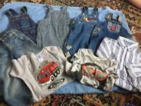 BABY BOYS CLOTHES. AGE 6 - 12- 18 MONTHS.