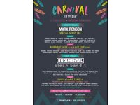 Carnival 56 weekend ticket (less than face value)