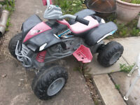 12v battery powered kids quad bike