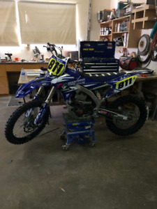 MINT 2014 YZ 450F READY TO RIDE!