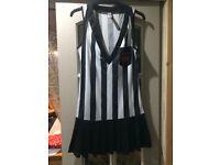 Ann summers size 12 referee fancy dress costume.