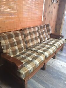 Rustic Couch/Chair Set
