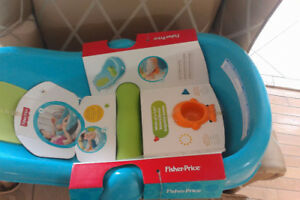 fisher price, whale of a tub,n3429