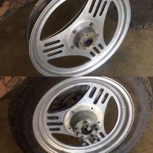 Harley fxr Dyna sportster mag wheels