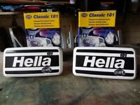 Hella classic 181 driving lamps