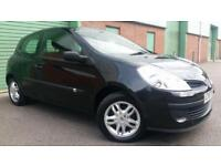 2007(57) RENAULT CLIO 1.5dCi 68 EXTREME TURBO DIESEL BLACK SMALL CHEAP FIRST