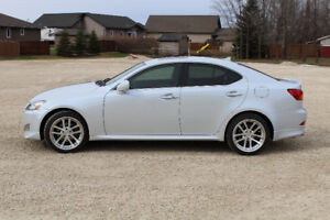 2007 Lexus IS 250 AWD with Weds Kranze LXZ wheels